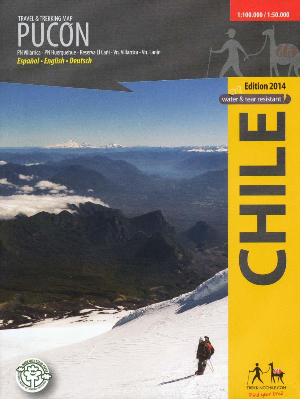 Pucón (Chile) 1:100,000 & Huerquehue NP 1:50,000 Trekking Map, waterproof, GPS-compatible COMPASS ebook