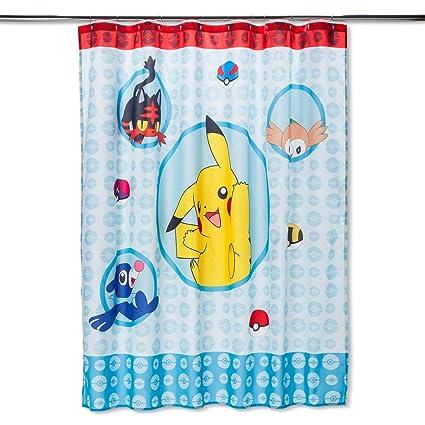 Franco Pokemon Shower Curtain