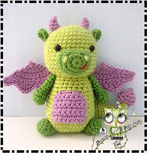 DRAGONCITO AMIGURUMI PERSONALIZABLE (Bebé, crochet, ganchillo, muñeco, peluche, niño,