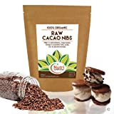 Organic RAW Cacao Nibs | 100% PURE Vegan Dark Chocolate Baking Ingredient | #1 Best Magnesium Rich Superfood | Unsweetened, Natural, Versatile | Ideal for Power Smoothies & Protein Energy Bars | 200g | by Nutri Superfoods