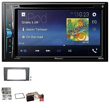 Pioneer a200bt USB DVD 2DIN Bluetooth CD MP3 Radio de coche para Ford Mondeo (2003