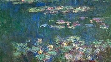 Kunst Fur Alle Art Print Poster Claude Monet Der Seerosenteich Ohne