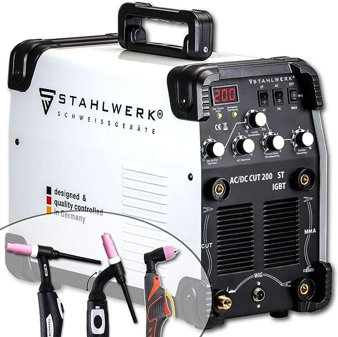 STAHLWERK AC/DC TIG 200 Plasma ST IGBT - Máquina de