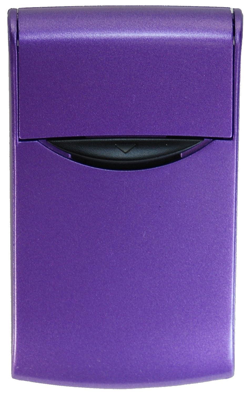 Amazon.com : Automatic Business Card Dispenser #CC15_Purple ...