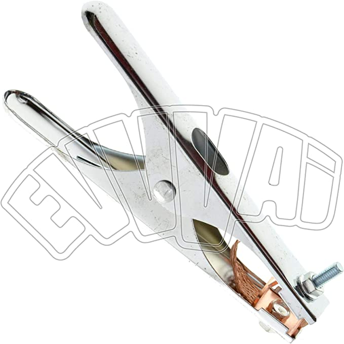 morsetto di massa per elettrodi collegamento a nastro in rame Morsetto per saldatrice con cavo da 300 A