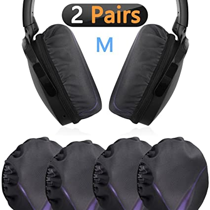 261d3f7dd31 Geekria Flex Fabric Headphone Earpad Covers/Stretchable and Washable  Sanitary Earcup Protectors. Fits 3""