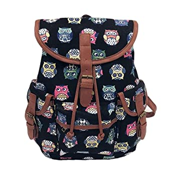4de65f562917 Amazon.com   KONFA Retro Backpack for Women