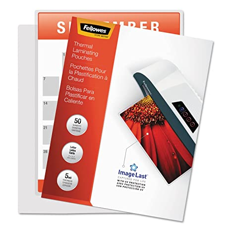 Amazon.com: Bankers Box Fellowes 52040 Laminating Pouches ...