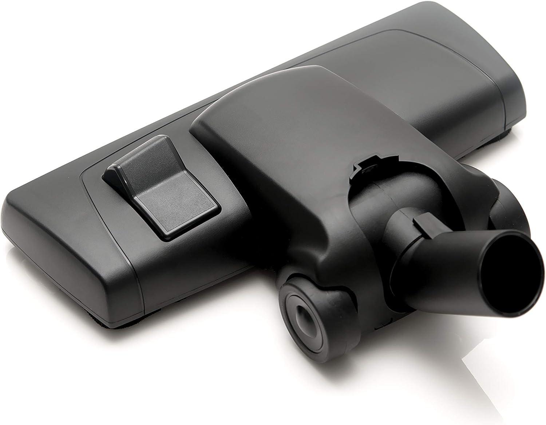 ✧WESSPER/® Brosse daspirateur pour Moulinex Powerstyle 1350 /ø32mm-38mm, avec des roues