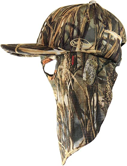 Hunting Fishing Shadow Grass Blades Camouflage Cap Hat Hunting Face Mask