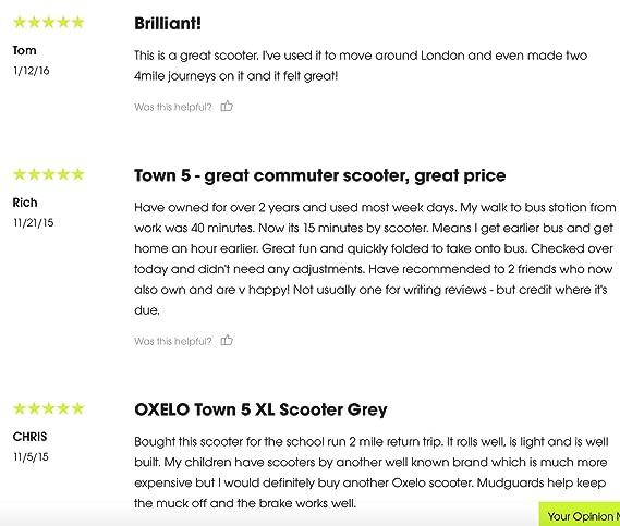 Oxelo Town 5XL - Patinete Plegable para Adulto: Amazon.es ...