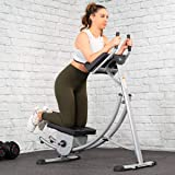 XtremepowerUS Deluxe Abdominal Crunch Coaster Fitness Equipment Body Exercise Workout Max Core Work Out (Ab Coaster)