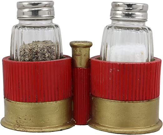 """Rugged Cowboy Colorful Western Style Salt /& Pepper 6/"""" Shakers Set"""