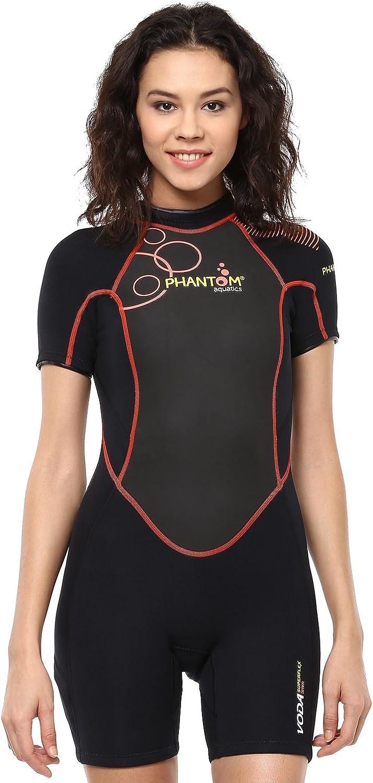 Phantom Aquatics Wetsuit Women's Voda Premium Shorty