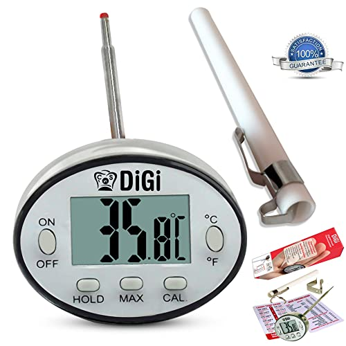 Cooknstuff Digital Meat Thermometer With Instant Read