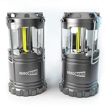 Résistantes Herobeam Bien Cob Émet Technologie 2 Pour Les CaravanesCabanonsCombles Lanterne Pliables 300 X LumensLampes Led 08wPnXOk