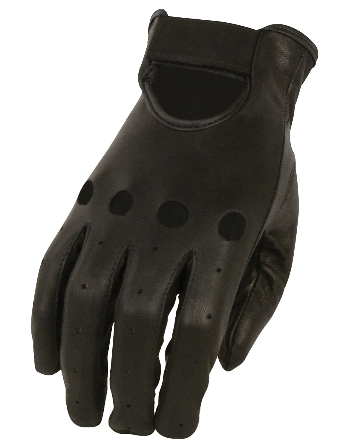 Milwaukee Leather Women's Unlined Driving Gloves (Black, Medium) SH721-BLK-M
