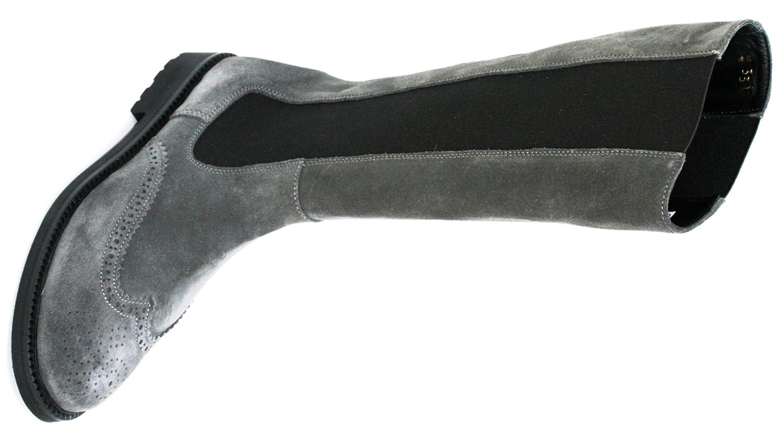 Gallucci Mädchenstiefel 5184.1, Größe:34 EU, Farbe:Antracite
