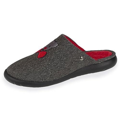 Isotoner - Zapatillas de Estar por Casa Mujer: Amazon.es: Zapatos y complementos