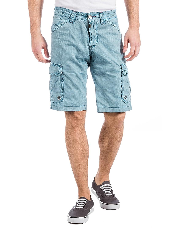 Mens 25-0187 Rossitz Cargo Shorts Incl. Hommes 25-0187 Rossitz Short Cargo Incl. Belt Shorts Timezone Fuseau Horaire Short De Ceinture dMEMG8Gmj