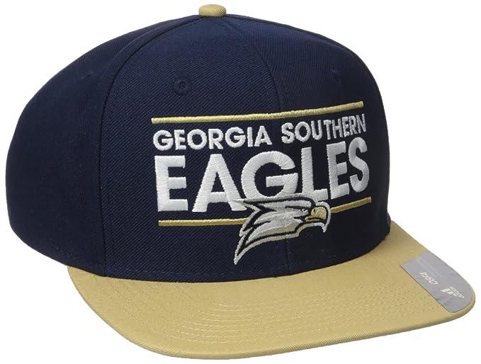 c38a4b18c0ed8 NCAA Georgia Southern Eagles Adult Men Dassler Flat Brim Snapback, One  Size, Navy