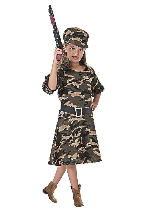 Costumizate! Disfraz de Militar Talla 10-12 Especial para ...