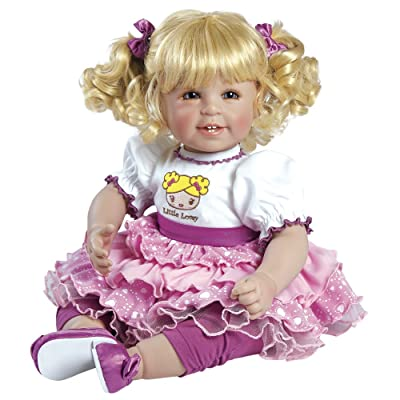 Adora ToddlerTime Little Lovey Doll with high-Wasted Party Dress and Shiny Shoes: Toys & Games