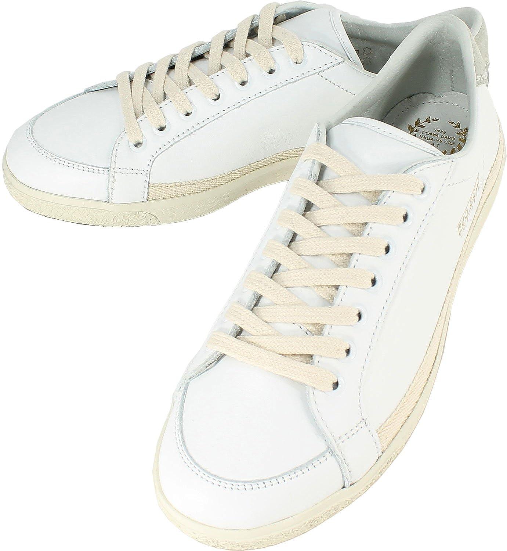 Pantofola d'Oro パントフォラドーロ レザースニーカー CLASSICO PG64 ホワイト pdo320601 B071KQXZFT