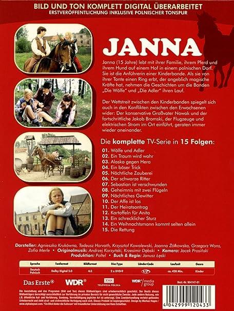 Janna 2 Dvds Amazonde Agnieszka Krukówna Krzysztof