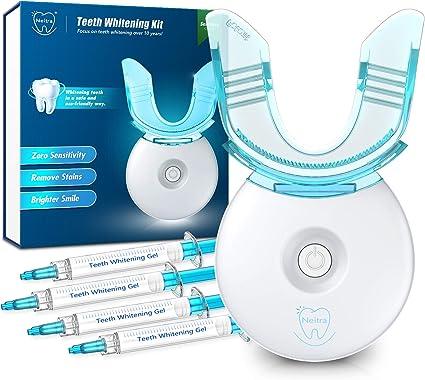 Amazon Com Neitra Teeth Whitening Kit With Led Light For