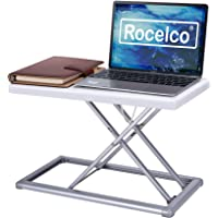Deals on Rocelco 19-inch Portable Desk Riser Travel Standing Desk