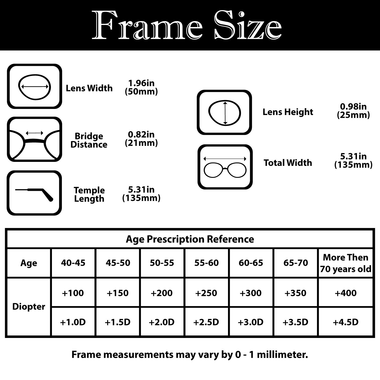 doubletake aec metal compact folding reading glasses with mini flip