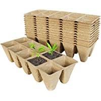 Kits de Germination des Plantes Kit de Pots de Tourbe de D/émarrage de Semences pour Plateau de Semis de Jardin Biologique avec Couvercle Plateau de Semis En D/ôme