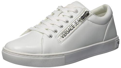 Versace Jeans Scarpe - Uomo, Sneaker Bianco Ottico E003, 43 ...