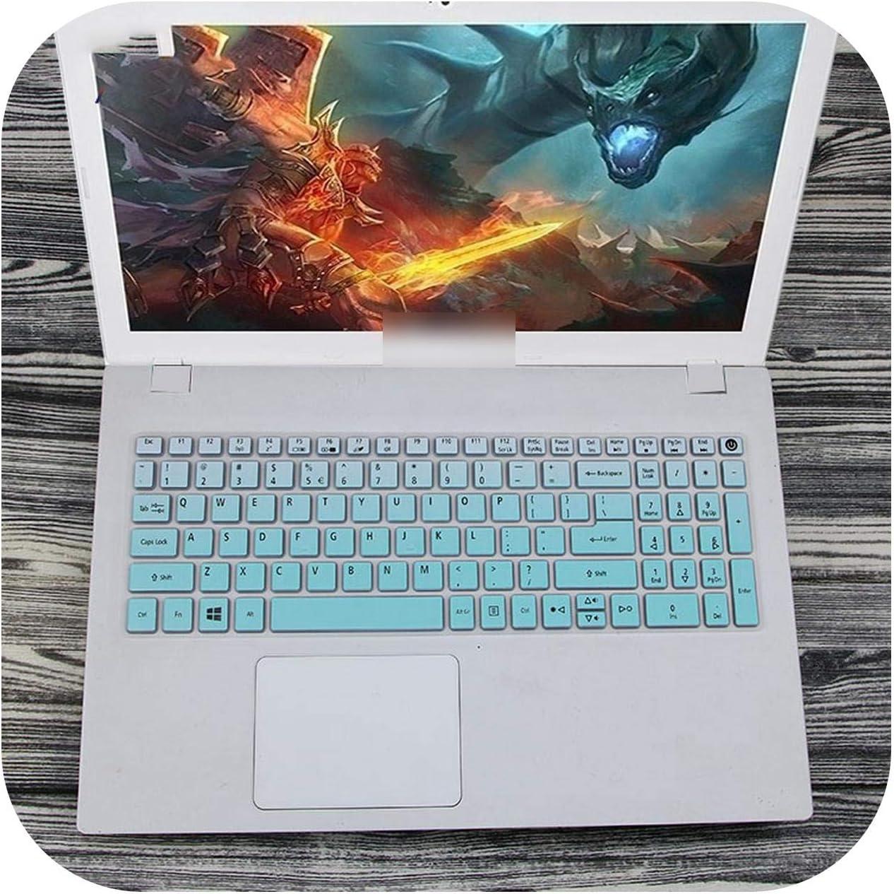 15.6 inch Keyboard Silicone Keyboard Cover Protector for Acer Aspire e15 E5 573G 532 522 V3 574 F5 572G VN7 592G T5000 TMP258-fademint-
