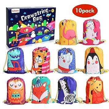 BeebeeRun 10Pack Bolsas de Cuerdas para Infantil, Cordón ...