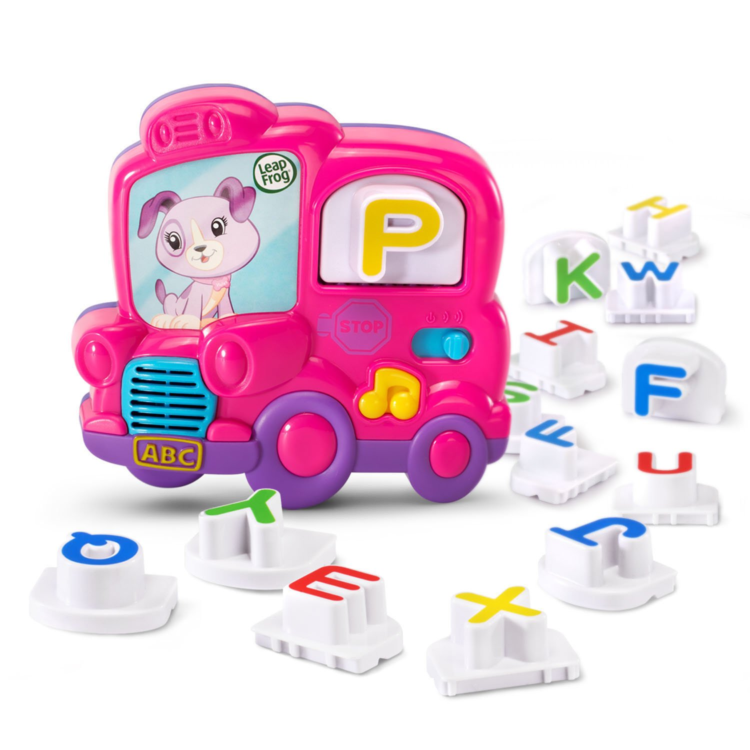 LeapFrog Fridge Phonics Magnetic Letter Set, Pink by LeapFrog