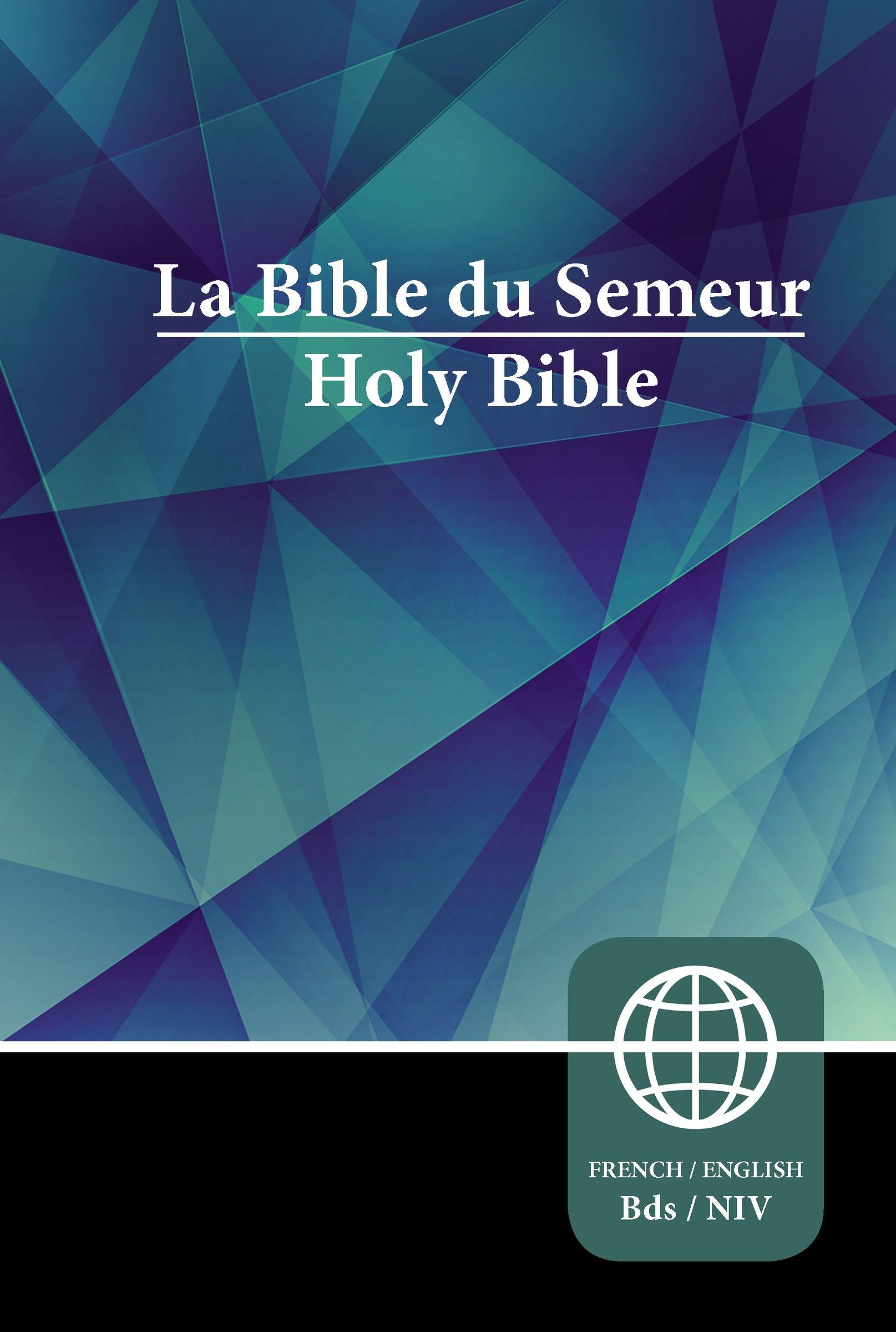 Read Online Semeur, NIV, French/English Bilingual Bible, Hardcover PDF