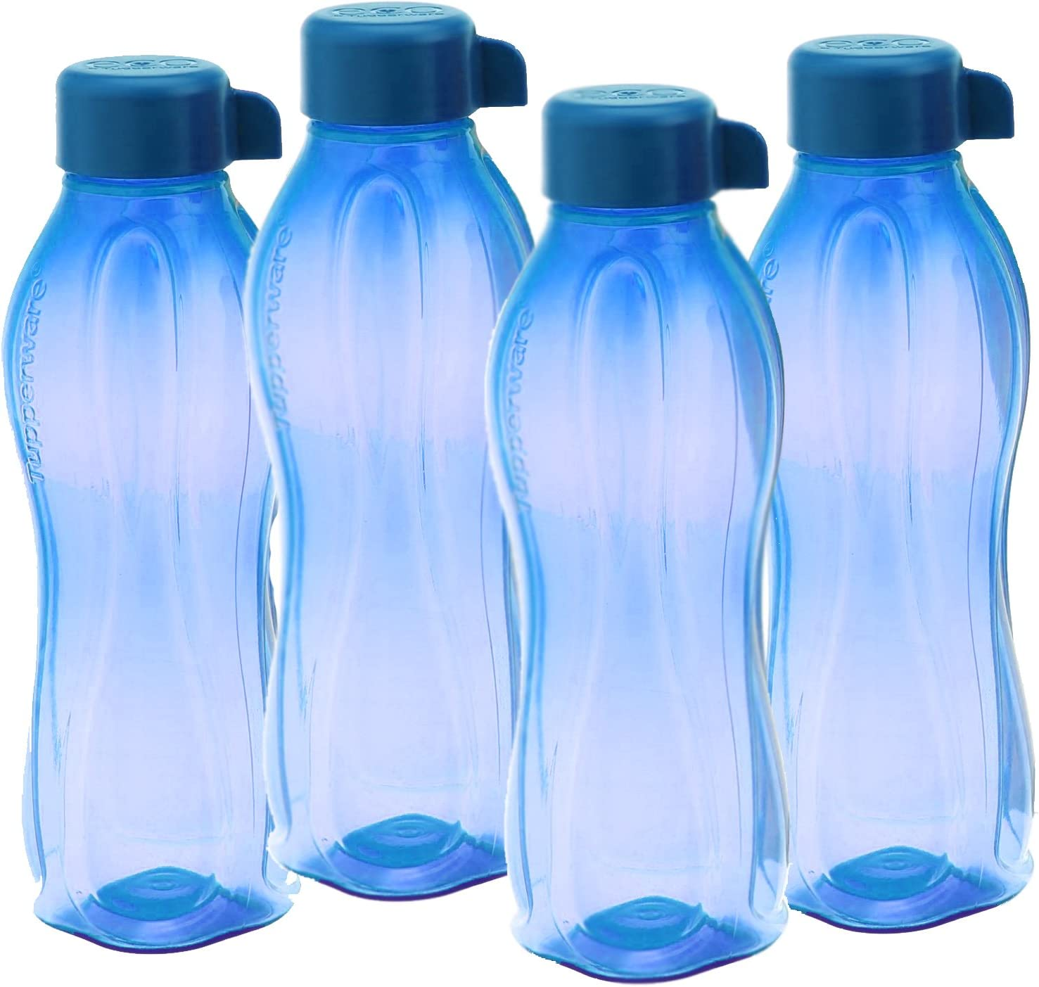 Set of 4 AquaSafe Bottle 1 L by Tupperware //// Best Quality //// FREE SHIPPING