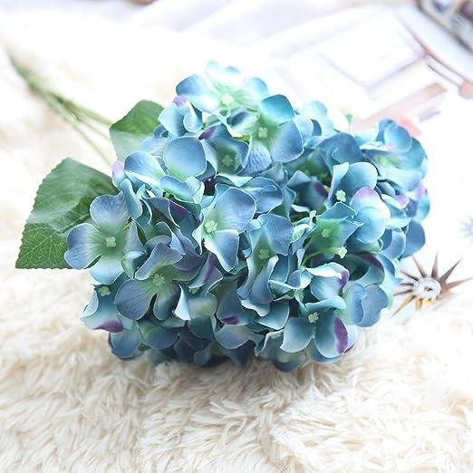 Besde Kunstliche Blumen Seide Hortensie Bridal Bouquet Hochzeit