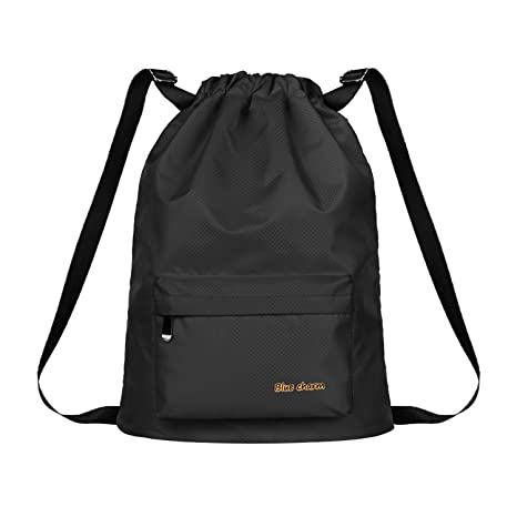 Backpack Large Capacity Waterproof Sports Bag Men And Women Swimsuit Wet And Dry Beach Bag Swim Beach Bag Shoes Package Storage Bags