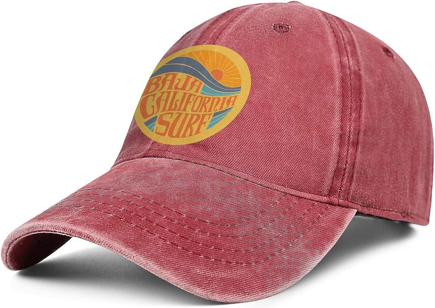 Baja California Surf - Gorra de Golf para Hombre y Mujer - - Talla ...