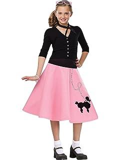 Amazon Com Poodle Skirt For Girls Clothing