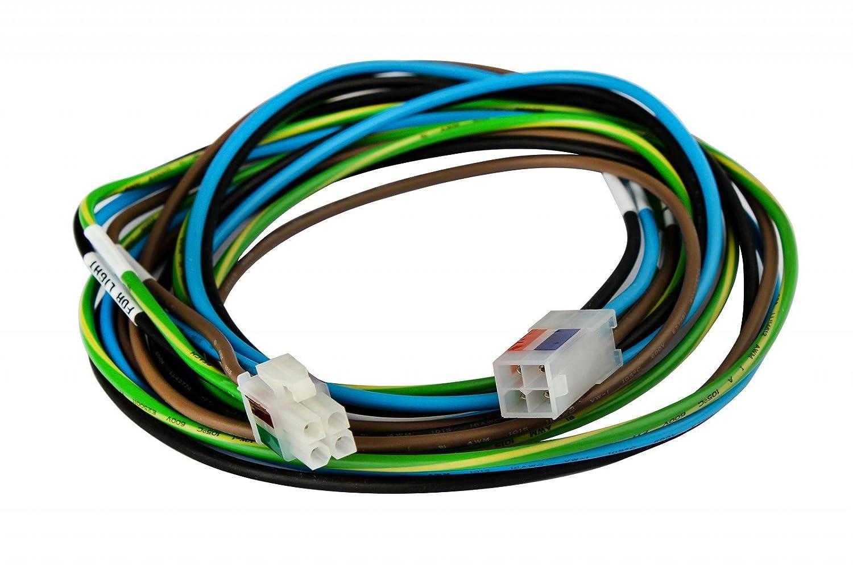 L/änge :61 cm Unbekannt Kabelsatz f/ür Deckenventilator Verl/ängerungsstangen,