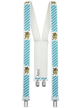 Xeira Bretelles de haute qualité pour Femmes Hommes avec 4 CLIPS extra fort  35mm de 1bb593a9cc7e