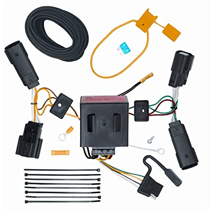 Phenomenal Amazon Com Ecustomhitch Vehicle To Trailer Wiring Harness Connector Wiring Digital Resources Funapmognl
