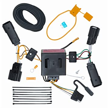 amazon com vehicle to trailer wiring harness connector for 11 13 vehicle to trailer wiring harness connector for 11 13 ford edge plug play