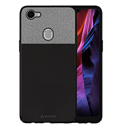 huge discount d6164 630fe Stuffcool Eto PU Leather Back Case Cover for Oppo F7 - Black