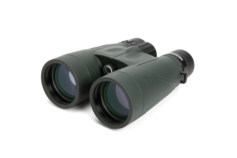Binoculares 10x, 5,6 cm, BaK-4, Negro, Verde, 5,6 mm, 105 m Verde Celestron Nature DX Binocular BaK-4 Negro