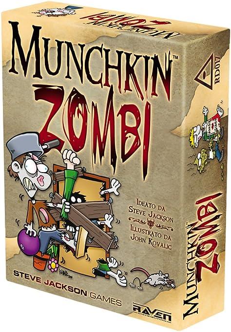 Raven Munchkin Zombi - Juego de Mesa: aa.vv.: Amazon.es: Juguetes ...